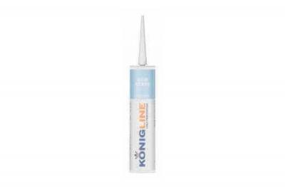Белый акриловый силикон Konigline Eco Acryl для дверей и окон