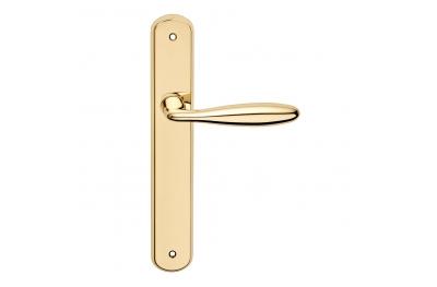 Luxor Series Основные формы Дверная ручка на пластине FROSIO Бортоло формы криволинейной