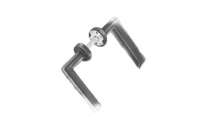 Двойная ручка Ибица SPE. 20-90mm Савио для дверей ворот и железные ворота