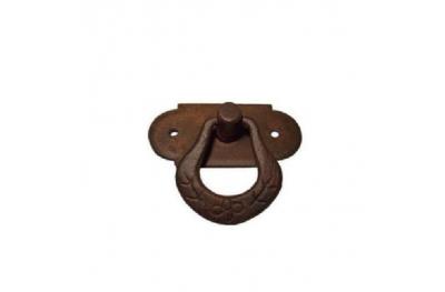 Ручка мебельная 038 Galbusera в кованого железа искусства с кольцом