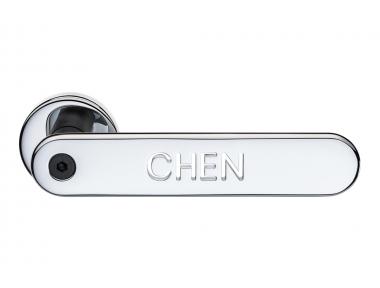 Дверная ручка с индивидуальным написанием H1055 Valli&Valli