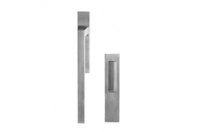 Дверная ручка Рибалта площади латуни Fashion Line PFS Pasini