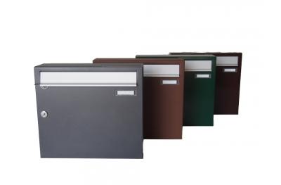 Master Zwick одного почтового ящика на открытом воздухе Различные цвета