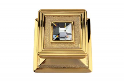 Opera Оперный кристалл 1056 PT Позолоченная тонкая дверь Knok Line Calì с ювелирными изделиями Кристаллы Swarovski