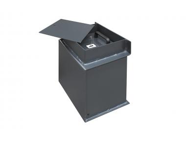 P / 01 Bordogna Напольный сейф, разработанный для предприятий и магазинов