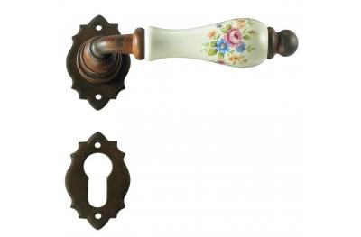 Париж Гэлбрейт ручка двери с розеткой и сопла
