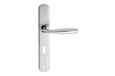 Филипп Серия 2 Основные формы Дверная ручка на планке Отрегулировать форму Frosio Bortolo Эргономичный