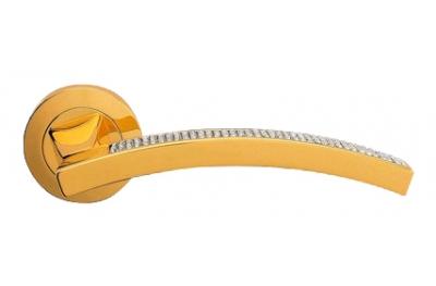 Профиль Сетка чистого золота ручка порт Rosetta Linea Cali Кристалл