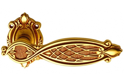 Рамзес Classique PFS Pasini для латуни ручка двери с розеткой и сопла