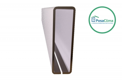 Стальная арматура для контррамки Klima Pro PosaClima 12x40 мм