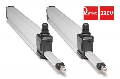 S80 Topp 230V Syncro Пара двигателей для Windows, чтобы выступать 800N с 2 точками подталкивания