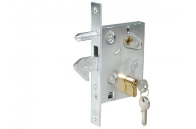 Крюк замка для раздвижных ворот оцинкованная сталь IBFM
