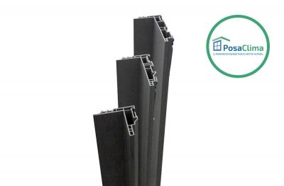 Klima Pro PosaClima Противоточная рама для прямоугольных отверстий в стене и крепления окон