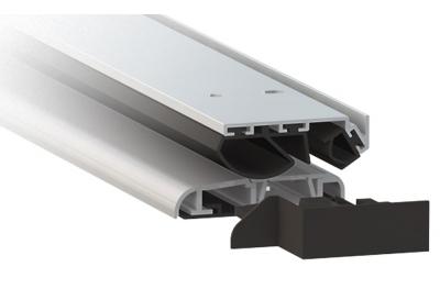 Порог алюминиевый анодированный Серебро Comaglio 1375 Серия Универсальный