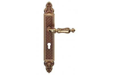 Солей ручка двери на пластине Linea Cali Vintage