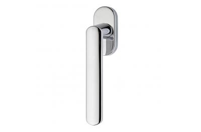 Солис серии Мода формы Ручка молотка DK Window Frosio Bortolo Satin Chrome