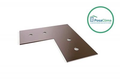Центровочная пластина из оцинкованной стали для контррамки Klima Pro PosaClima