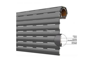 Жалюзи AriaLuceTherm с изоляцией из ПВХ и алюминия для доступа воздуха и света