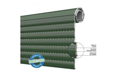 Энергосберегающие рольставни Duero 55 Shutter из ПВХ и алюминия