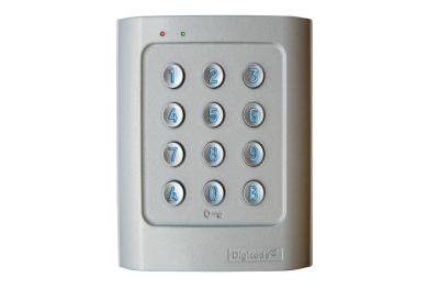Клавиатура Вандал автономный DGA ретро-Lit Алюминиевый сплав Digicode 2 Реле контроля доступа CDVI