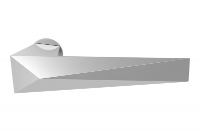 Twee Современная дверная ручка на розетке от дизайнера Massimo Cavana для Mandelli