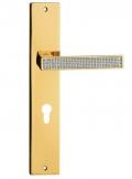 Zen Mesh Ручка двери на тарелку Linea Cali Кристалл